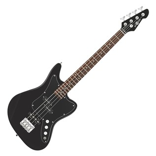 Seattle Short Scale Bass Guitar + 35W Amp Pack, Black