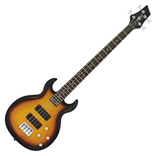 New Jersey Bass Guitar + 35W Amp Pack, Tobacco Sunburst