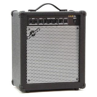 Harlem Bass Guitar + 35W Amp Pack, Black