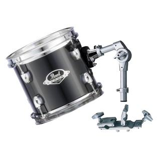 Pearl EXX 8x7 Add-On Tom Pack With TH70s & ADP-20, Jet Black