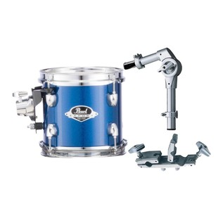 Pearl EXX 10x7 Add-On Tom Pack With TH70s & ADP-20, Blue Sparkle