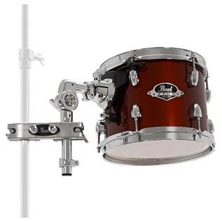Pearl EXX 8x7 Add-On Tom Pack With TH70s & ADP-20, Red Wine