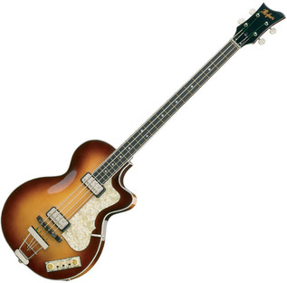 Hofner HCT 5002 Club Bass, Sunburst
