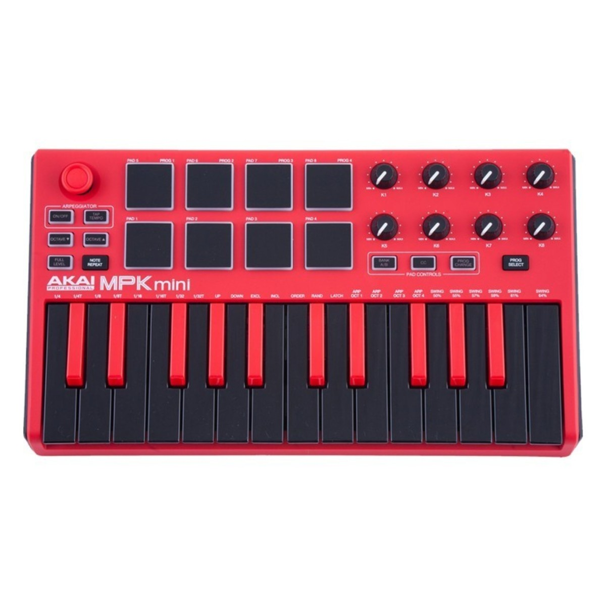 akai mpk mini mk 2 limited edition red at. Black Bedroom Furniture Sets. Home Design Ideas