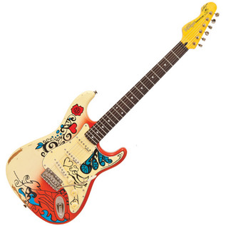 Vintage Icon V6 Blug Electric Guitar, Summer Of Love