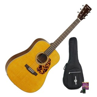 Tanglewood TW40DANE Electro Acoustic, Natural + Accessory Pack