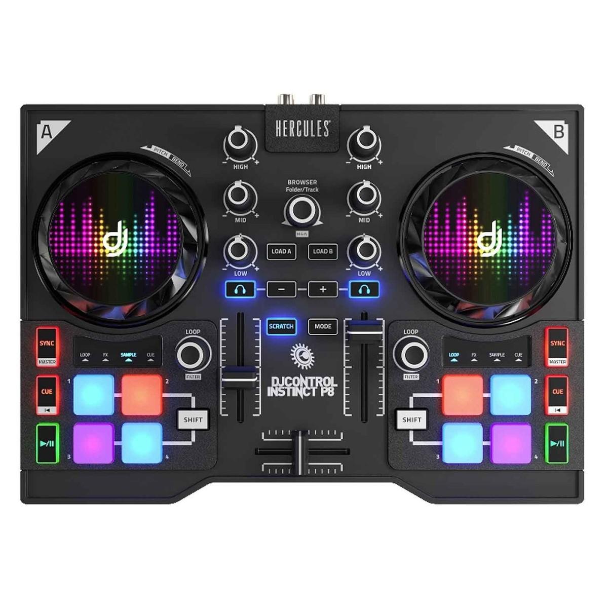 Image of Hercules DJ Control Instinct P8
