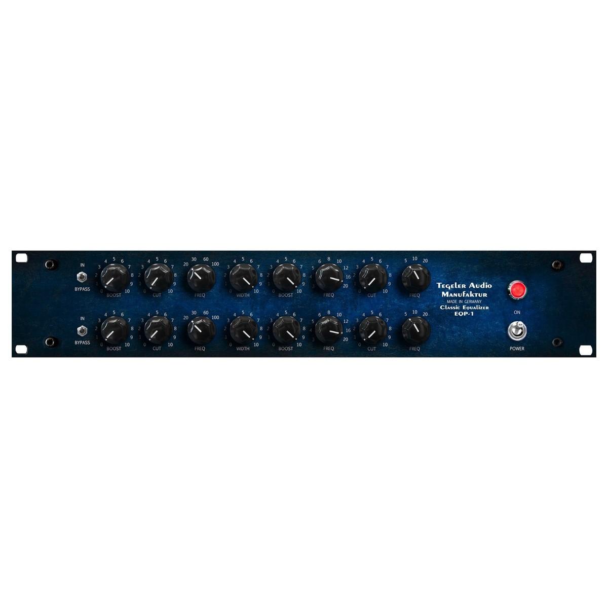 Tegeler Audio Equalizer classique EQP1 Tube à Gear4Music com