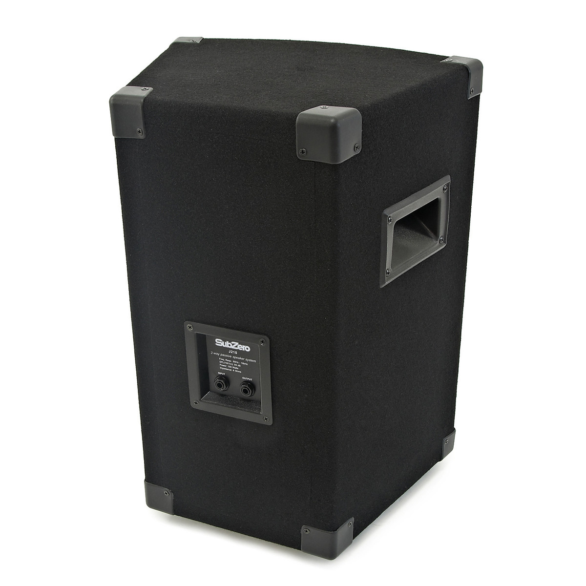 subzero 150w pa system with fx mixer and speakers b stock at. Black Bedroom Furniture Sets. Home Design Ideas