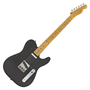 Fender Custom Shop 20th Ann. Relic Nocaster, Aged Black #885978644827