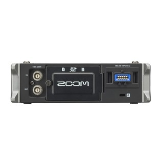 Zoom F4 MultiTrack Field Recorder with Protective Case - Recorder Rear