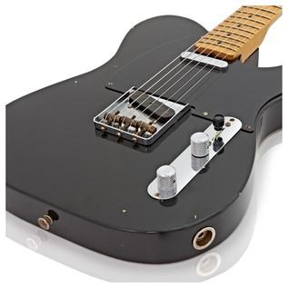 Fender Custom Shop 20th Ann. Relic Nocaster, Aged Black #885978644827