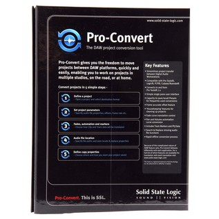 SSL ProConvert Mac Software - Box Rear