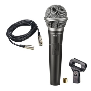 Audio Technica PRO31 Dynamic Vocal Microphone with XLR Cable - Microphone With Accessories