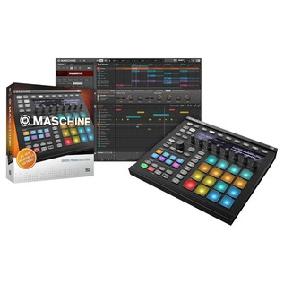 Native Instruments Maschine MK2, Black - With Box