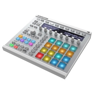 Native Instruments Maschine MK2, White - Angled