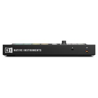 Native Instruments Maschine Mikro MK2, Black - Rear