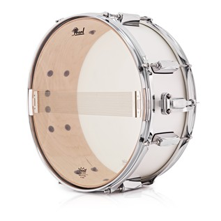 Pearl Decade Maple 14 x 5.5 Snare Drum, White Satin Pearl
