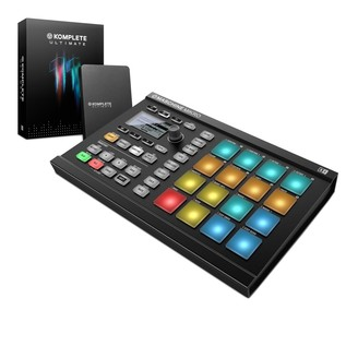 Native Instruments Maschine Mikro MK2 with Komplete 11 ULT, Black - Bundle