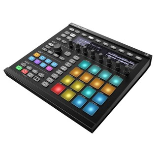 Native Instruments Maschine MK2, Black - Angled 3