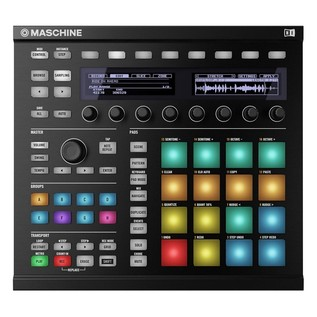 Native Instruments Maschine MK2 with Komplete 11, Black - Top