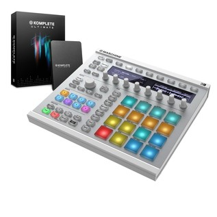 Native Instruments Maschine MK2 with Komplete 11 ULT, White - Bundle
