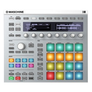 Native Instruments Maschine MK2 with Komplete 11 ULT, White - Top