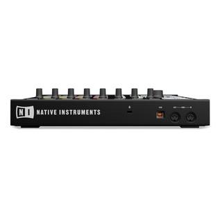 Native Instruments Maschine MK2 with Komplete 11 ULT, Black - Rear