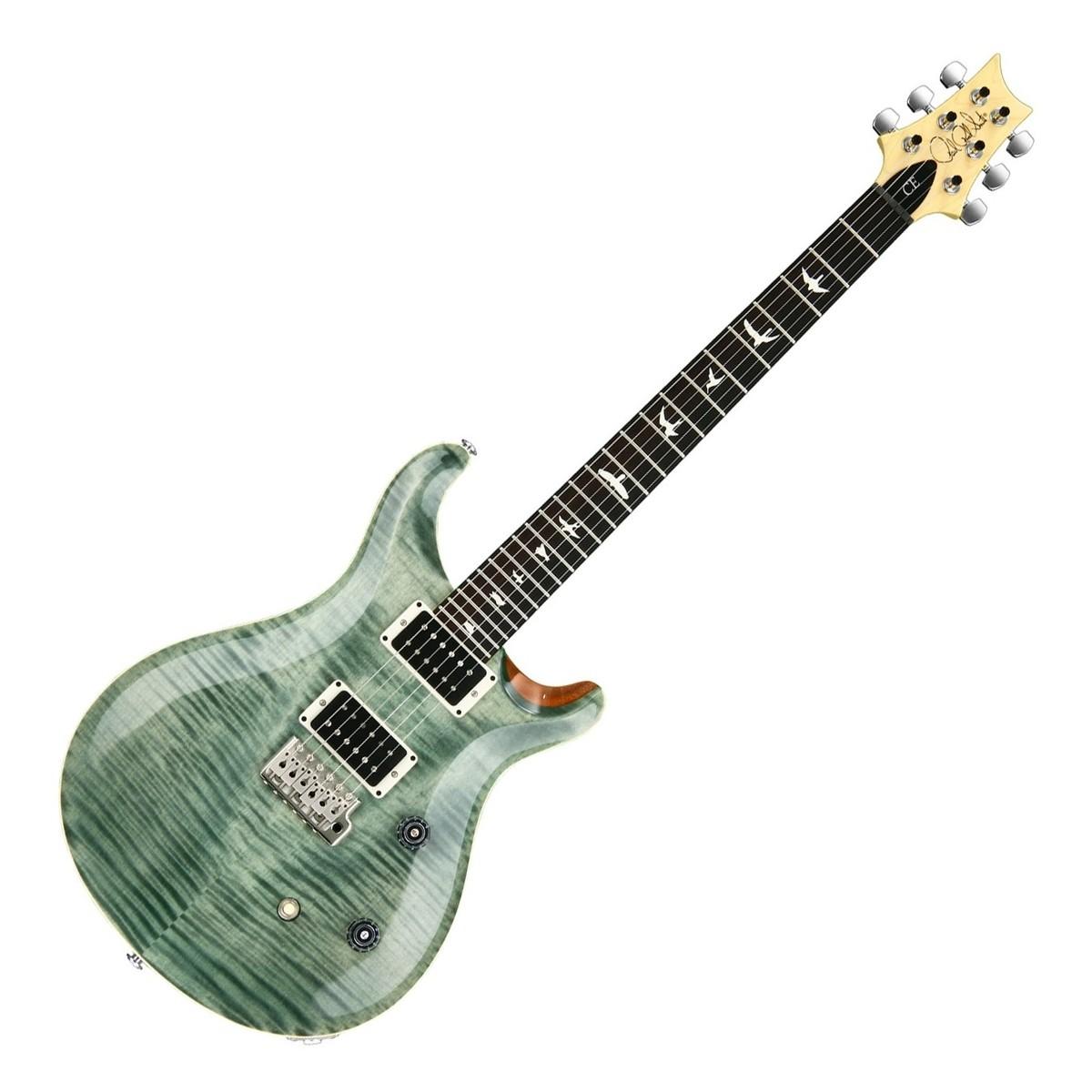Cheap PRS CE24 Electric Guitar, Trampas Green