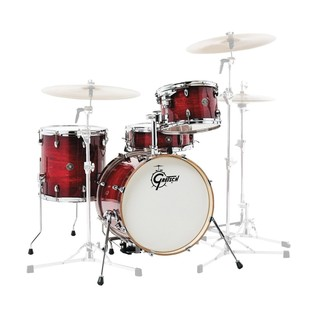 Gretsch Catalina Club Jazz 18'' 4 Pc Shell Pack, Crimson Burst
