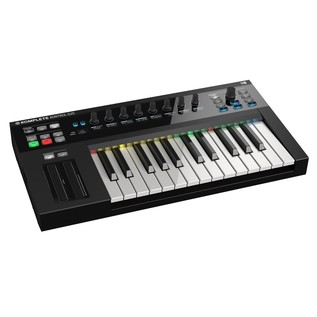 Native Instruments Komplete Kontrol S25 with Komplete 11 - Angled