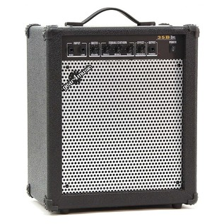 Chicago Bass Guitar + 35W Amp Pack, Black