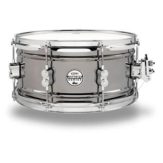PDP Black Nickel Over Steel Snare Drum, 13 x 6,5