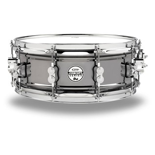 PDP Black Nickel Over Steel Snare Drum, 14 x 5,5
