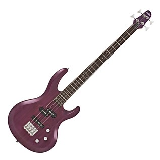 SubZero Atlanta Bass Guitar, Trans Purple