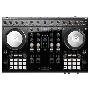 Native Instruments Traktor Kontrol S4 MK2 with Denon DN-308 Monitors - Kontrol Top