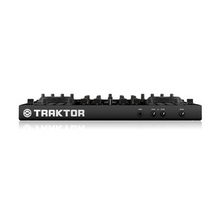 Native Instruments Traktor Kontrol S4 MK2 with Denon DN-306 Monitors - Kontrol Front