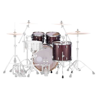 Pearl Masters MCT 20'' Fusion 4pc Shell Pack, Bronze Sparkle