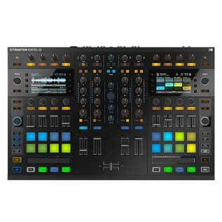 Native Instruments Traktor Kontrol S8 with Denon DN-306 Monitors - Kontrol Top