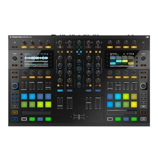 Native Instruments Traktor Kontrol S8 with Denon DN-308 Monitors - Kontrol Top