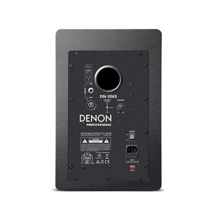 Native Instruments Traktor Kontrol S8 with Denon DN-308 Monitors - Monitor Rear
