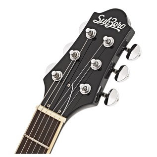 SubZero Detroit Semi Acoustic Guitar, Sunburst