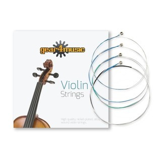 Violin String Set 3/4 size by Gear4music