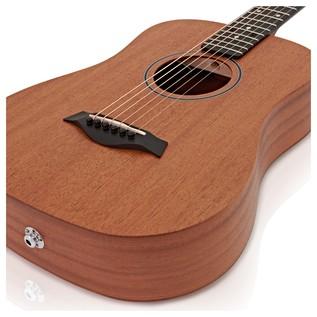 Taylor Baby Acoustic Travel Guitar with Pickup, Mahogany Top
