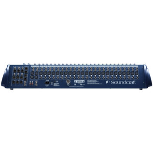 Soundcraft GB2-32 32-Channel Mixer - Rear View