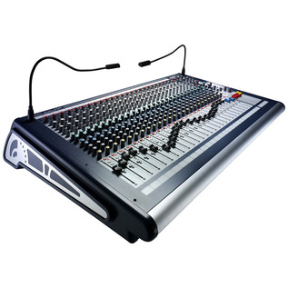 Soundcraft GB2-32 32-Channel Mixer - Angled