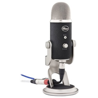 Blue Yeti Pro Studio - Angled With Cable