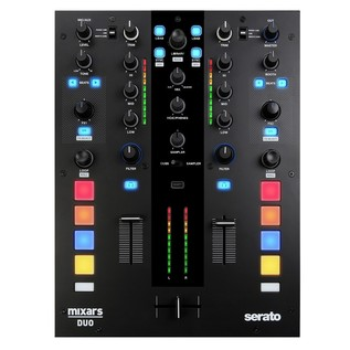 Mixars DUO 2-Channel Scratch Mixer - Top