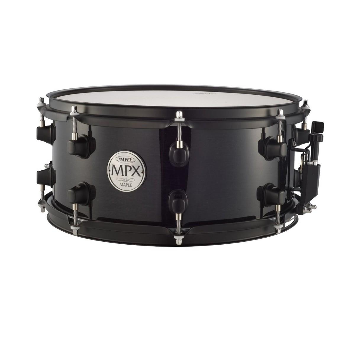 mapex mpml3600b 13 x 6 snare drum black at. Black Bedroom Furniture Sets. Home Design Ideas