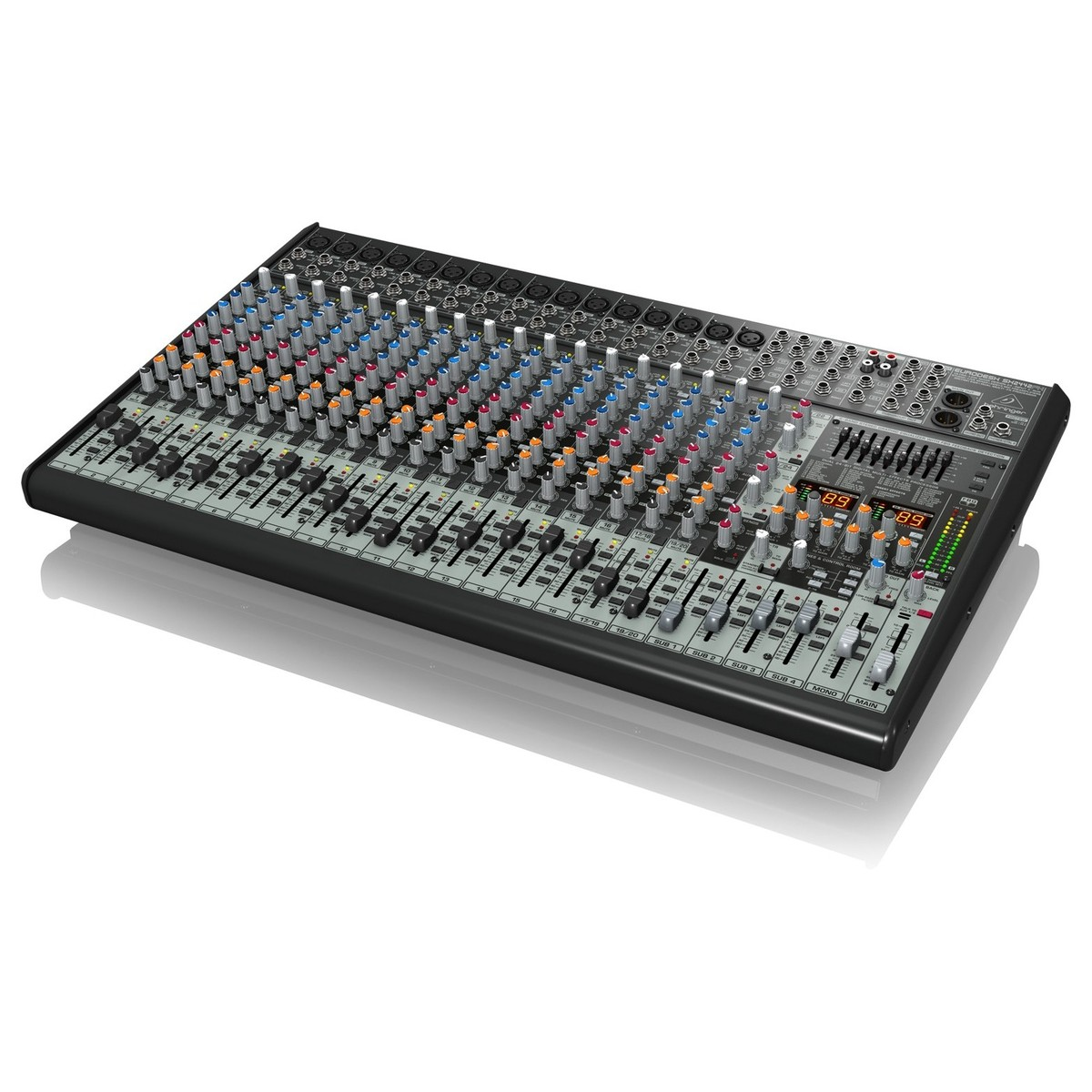 behringer eurodesk sx2442fx 24 channel analog mixer at. Black Bedroom Furniture Sets. Home Design Ideas